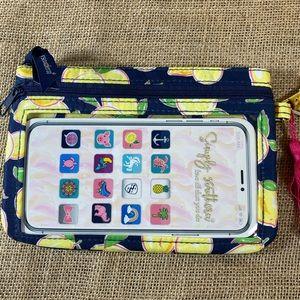 Simply Southern Bags - Simply Southern Lemon Wristlet NWT
